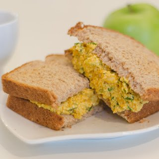 Eggless Salad with Tofu