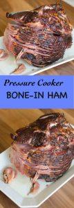 Pressure Cooker Bone-In Ham
