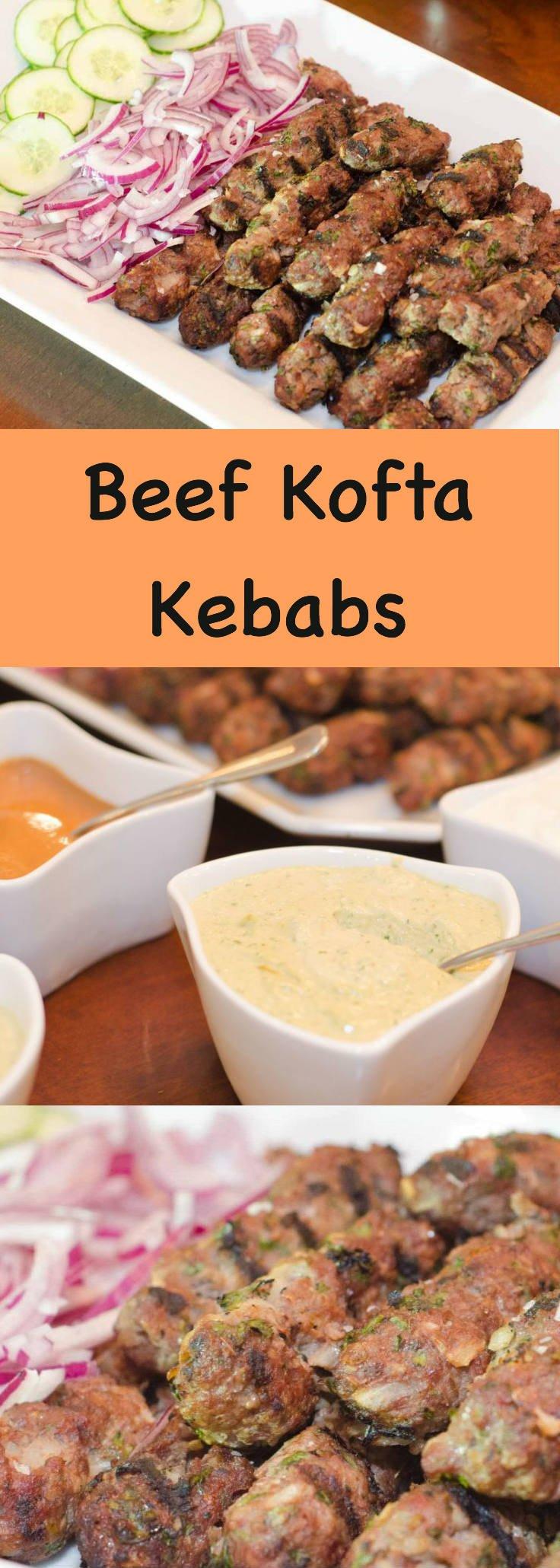 Beef Kofta Kebabs