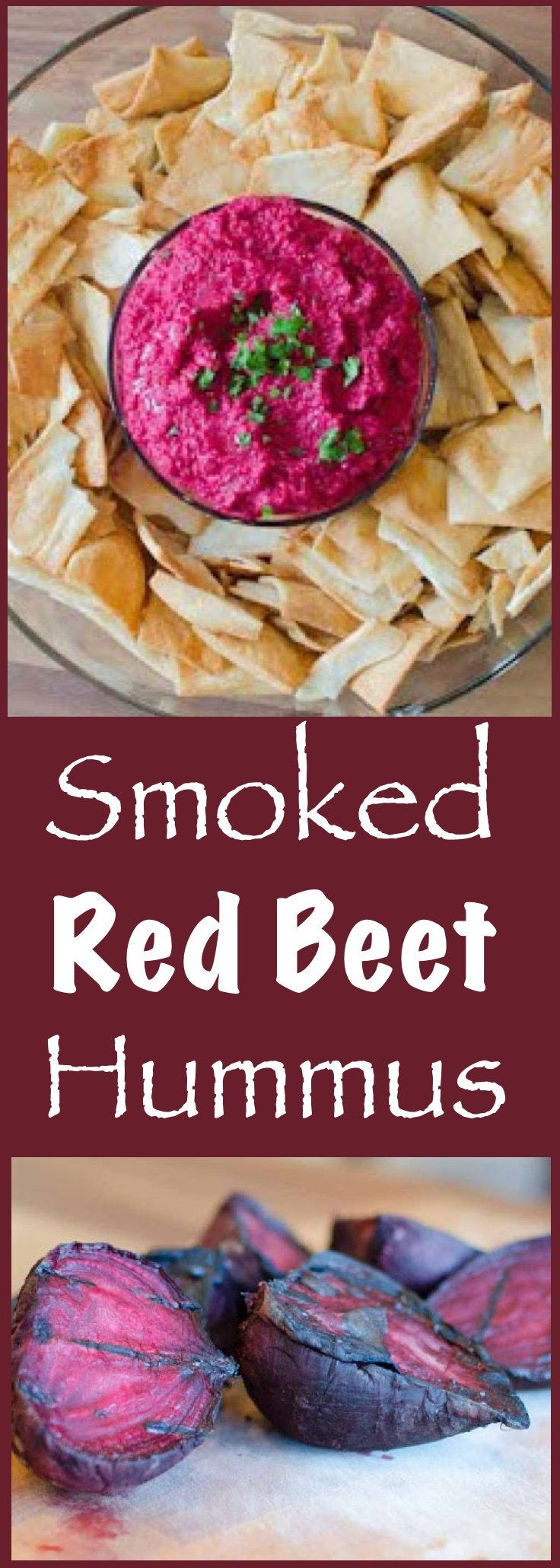 Not just Roasted Beets....Roasted AND Smoked Beets....make a killer hummus!!