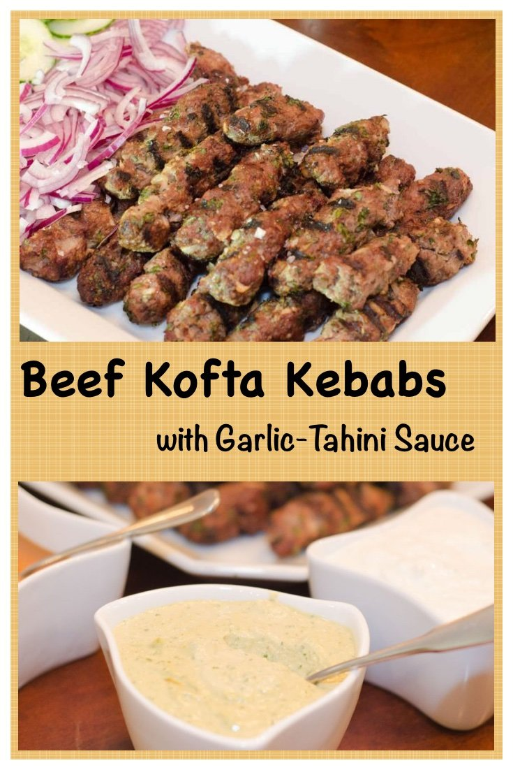 Mediterranean Beef Kofta Kebabs are delicious, kid friendly and can be made in no time at all!