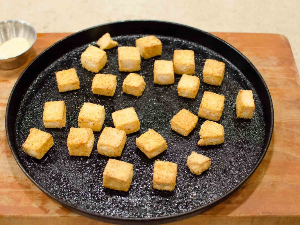 Crispy Baked Tofu on a Sheet Pan